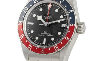 Tudor Tudor Black Bay GMT 41mm Stainless Steel Watch 79830RB