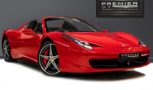 Ferrari 458 Spider For Sale In United Kingdom Jamesedition
