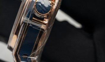 Hublot Big Bang 361.PX.7180.LR.1204  Gold Blue Diamonds Quartz Movement