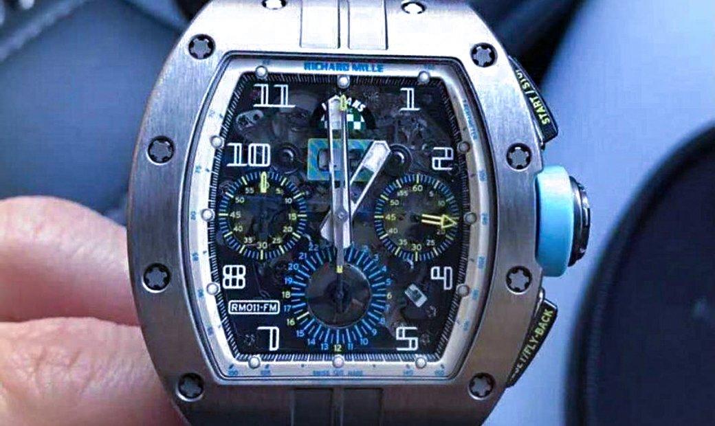 Richard Mille RM 011 Le Mans Classic Baby Blue