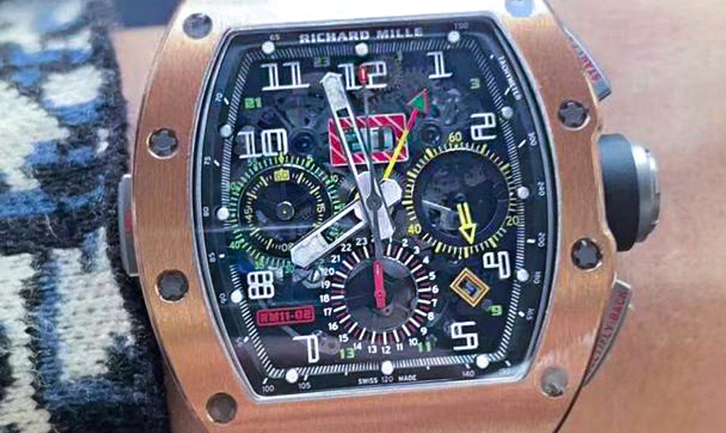 Richard Mille [2020 LIKE NEW] RM 11-02 Rose Gold GMT Flyback Chronograph Dual Time Zone