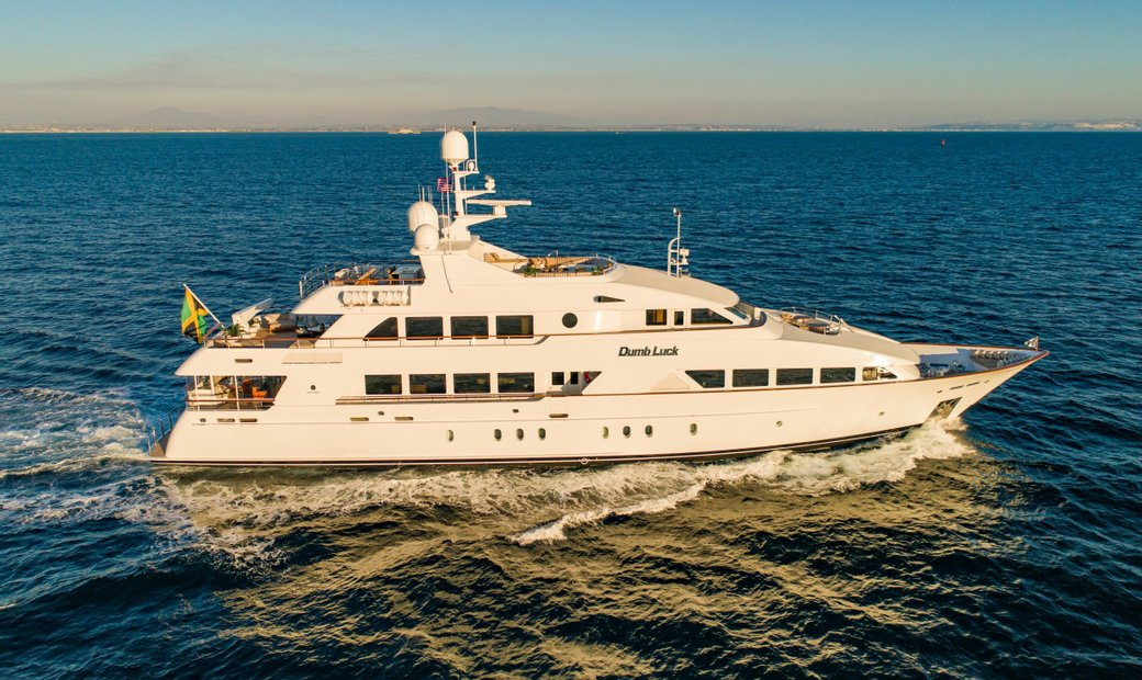 DUMB LUCK 43.89m (144') Palmer Johnson Full Displacement Tri-Deck Motor Yacht