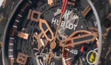 Hublot Big Bang Ferrari 401.OJ.0123.VR King Gold Carbon Limited Edition