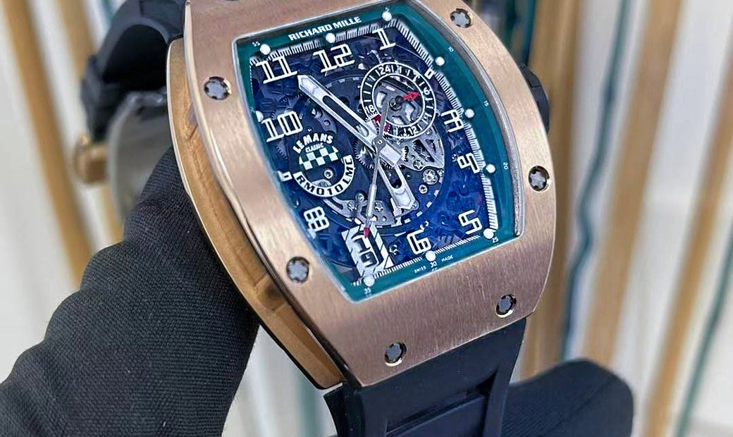 Richard Mille [LIMITED 150 PIECE] RM 010 Le Mans Rose Gold Watch