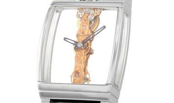 Corum Corum Golden Bridge 18K White Gold Watch 113.550.70