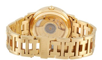 Hermès Hermès Clipper 18K Yellow Gold 36mm Watch CL5.785