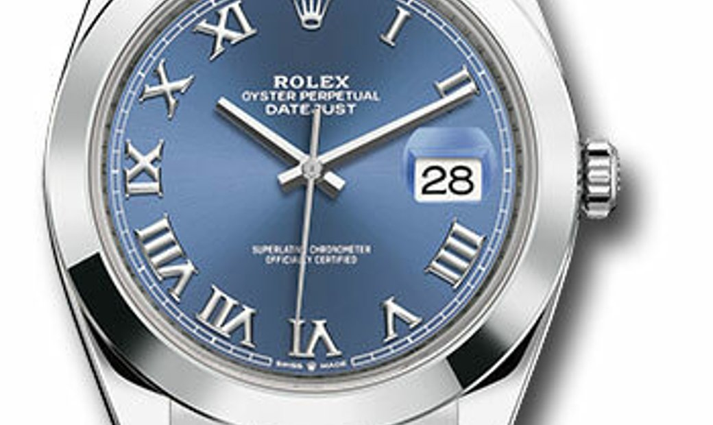 ROLEX OYSTER PERPETUAL DATEJUST 41 126300 BLRO