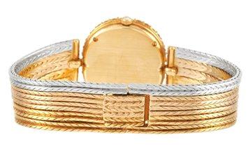 Gerald Genta Gerald Genta Royama 18K Yellow and White Gold Diamond Watch 21069