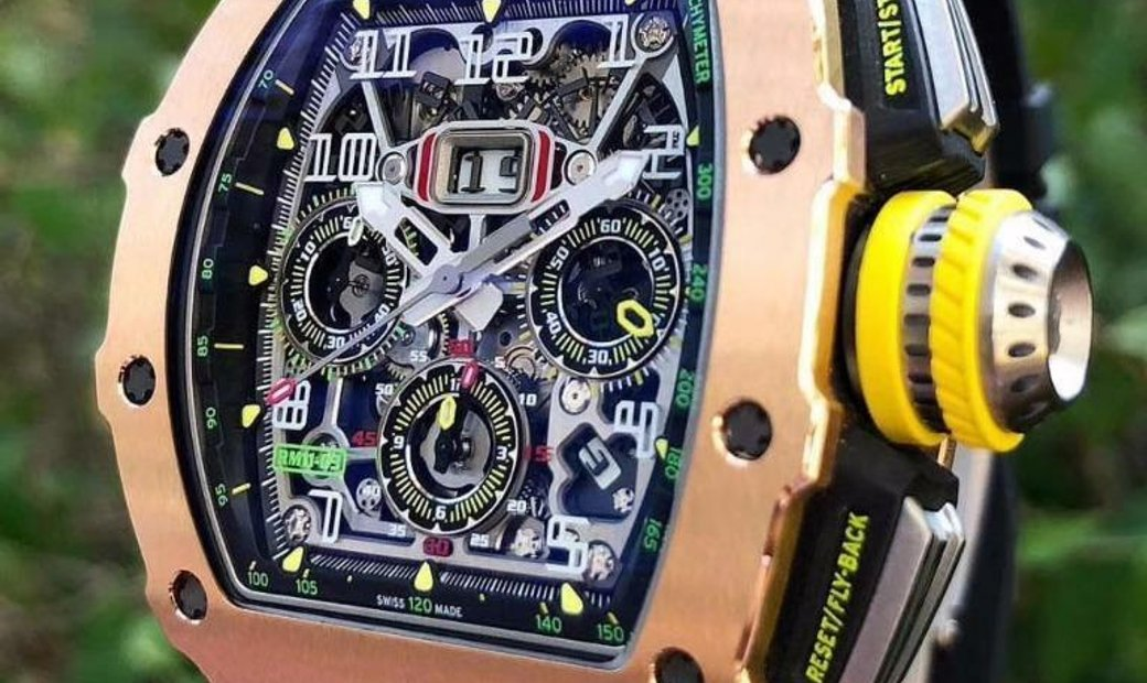 Richard Mille [NEW] RM 11-03 Rose Gold & Titanium Automatic Flyback Chronograph