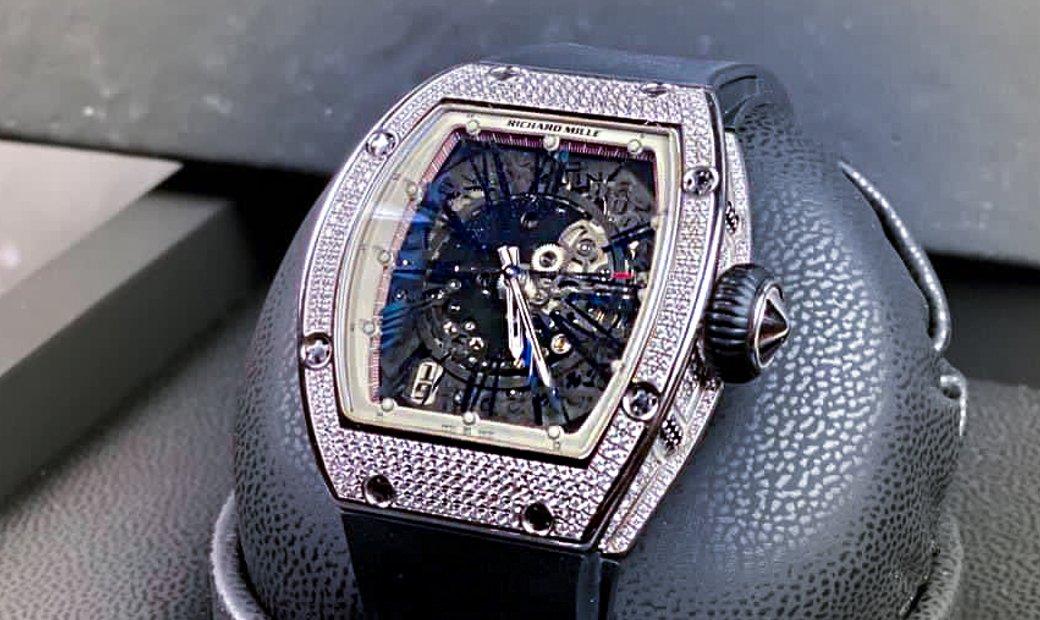 Richard Mille RM 023 White Gold Full Set Diamonds