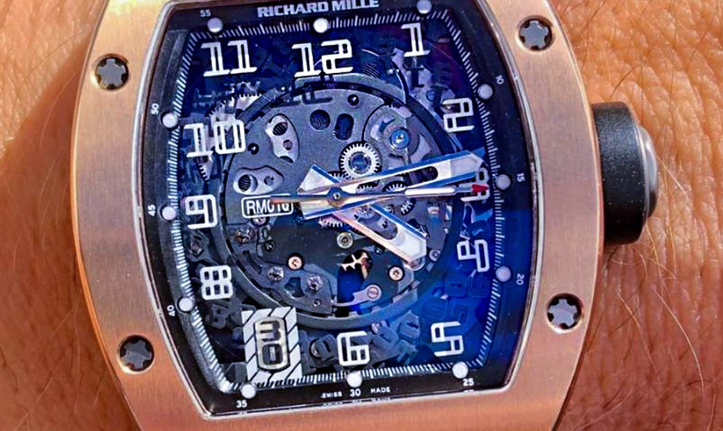 Richard Mille [2014 MINT] RM 010 Rose Gold Watch