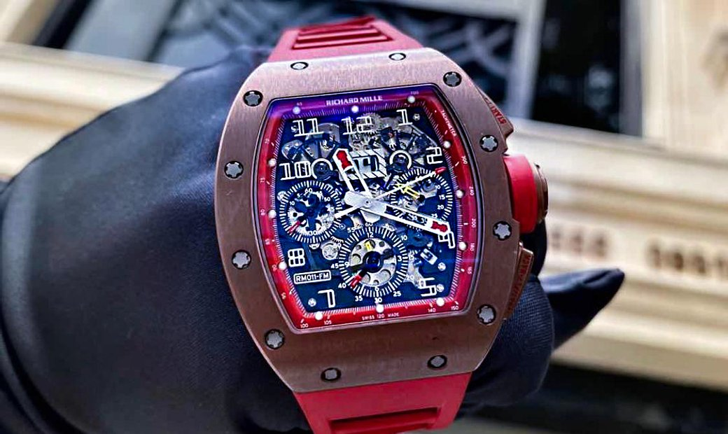 Richard Mille RM 011 Bronze Red America Limited