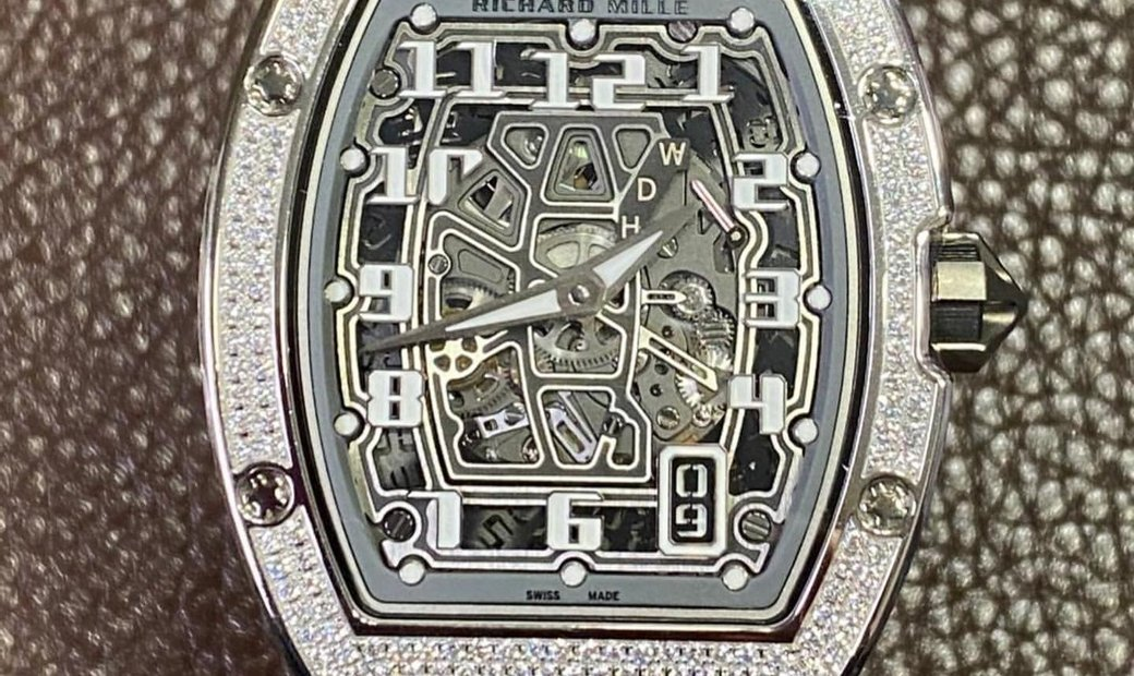 Richard Mille [NEW] RM 67-01 Extra Flat White Gold Full Set Diamonds