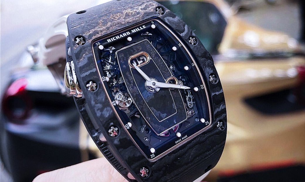 Richard Mille [NEW] RM 037 NTPT Carbon Automatic Watch