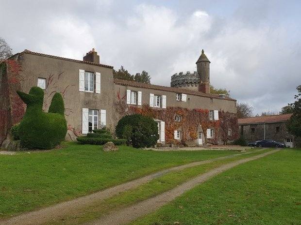 Castle in Saint-Christophe-du-Ligneron, Pays de la Loire, France 1
