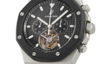 Audemars Piguet Audemars Piguet Royal Oak Tourbillon Chronograph Watch 26377SK.OO.D002CA.01
