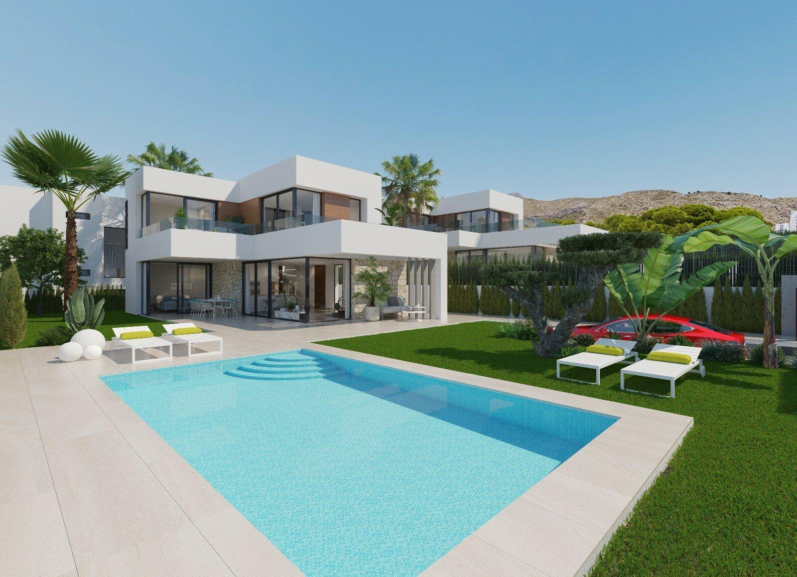 Villa in Finestrat, Valencian Community, Spain 1 - 11362147