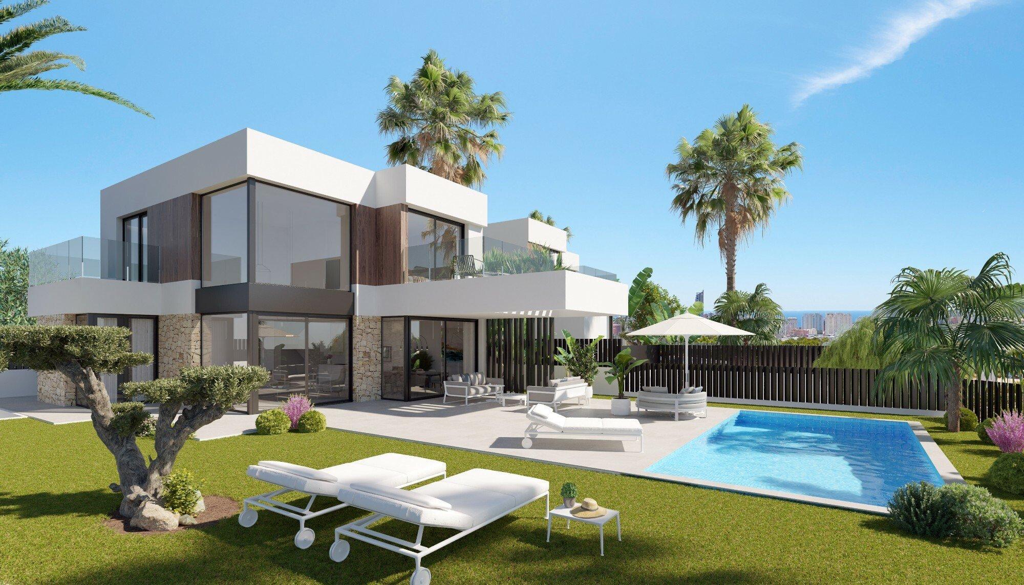 Villa in Finestrat, Valencian Community, Spain 1 - 11363184