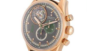 Zenith Zenith El Primero Rose Gold 44 mm Limited Edition Watch 18.2051.4035