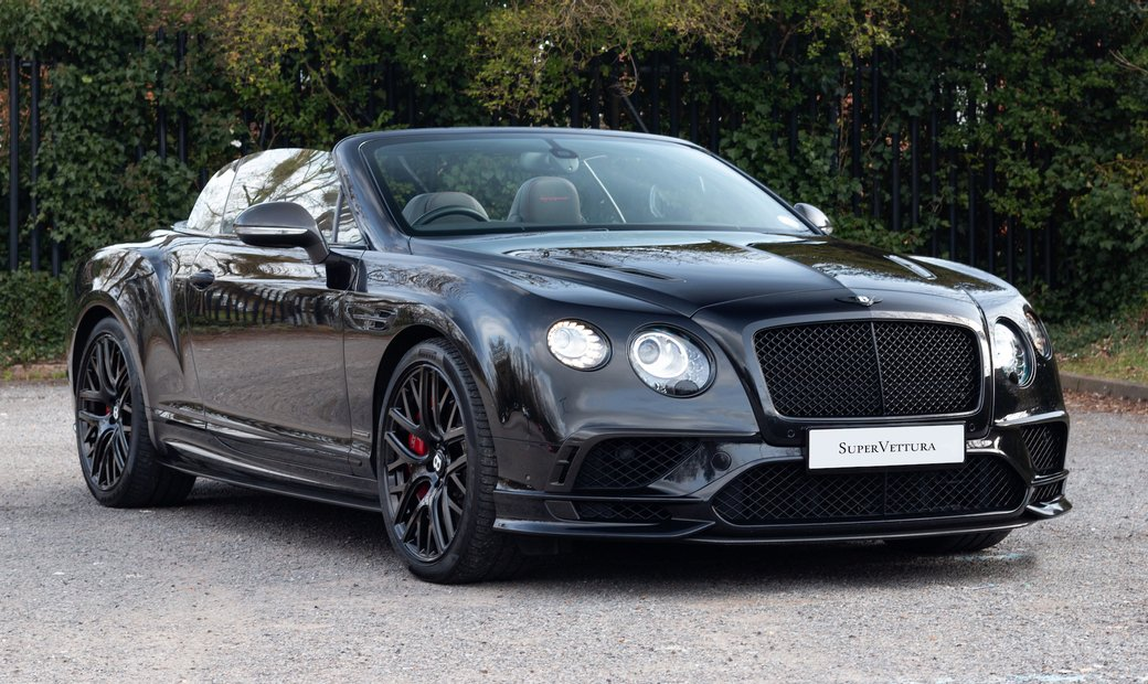 2018 Bentley Continental W12 Supersports Convertible