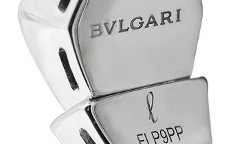 Bvlgari Bvlgari Serpenti 18K White Gold Diamond Ring