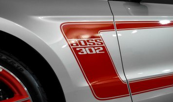2012 Ford Mustang Boss 302 Laguna Seca - 50 Miles