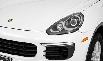 2016 Porsche Cayenne  $71,590 MSRP