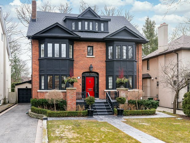 House in Old Toronto, Ontario, Canada 1
