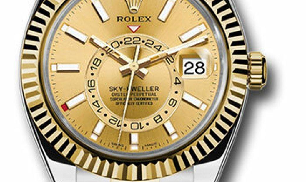 ROLEX OYSTER PERPETUAL SKY DWELLER 326933 CH