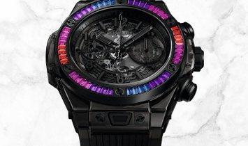 Hublot Big Bang Unico 411.JB.4901.RT.4098 All Black Sapphire Galaxy