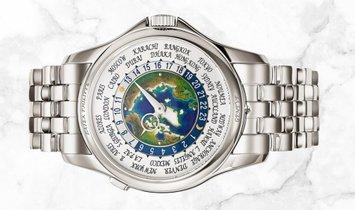 Patek Philippe 5131/1P-001 Complications World Time Platinum Cloisonné Enamel Dial