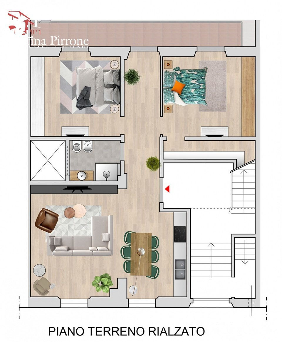 Apartment in Florence, Tuscany, Italy 1 - 11370956