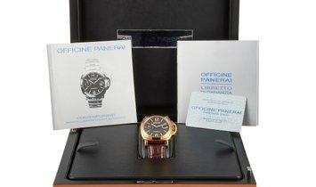 Officine Panerai Officine Panerai Luminor Marina Automatic 44mm Yellow Gold Watch PAM140