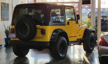 2002 Jeep Wrangler Sport Utility 2D