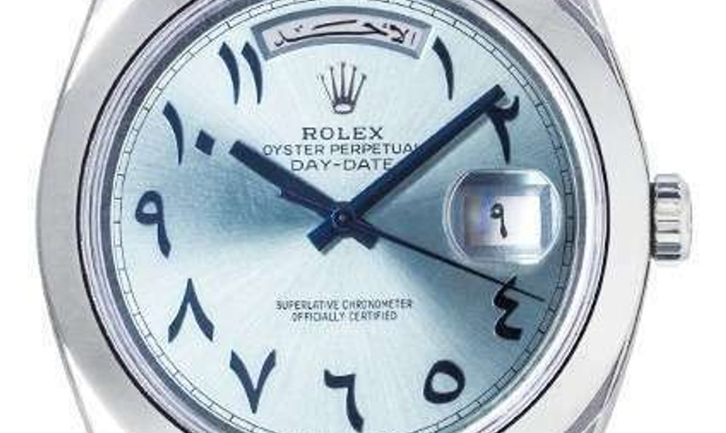 ROLEX OYSTER PERPETUAL DAY-DATE 40 228396TBR IBBDP ARABIC DIAL