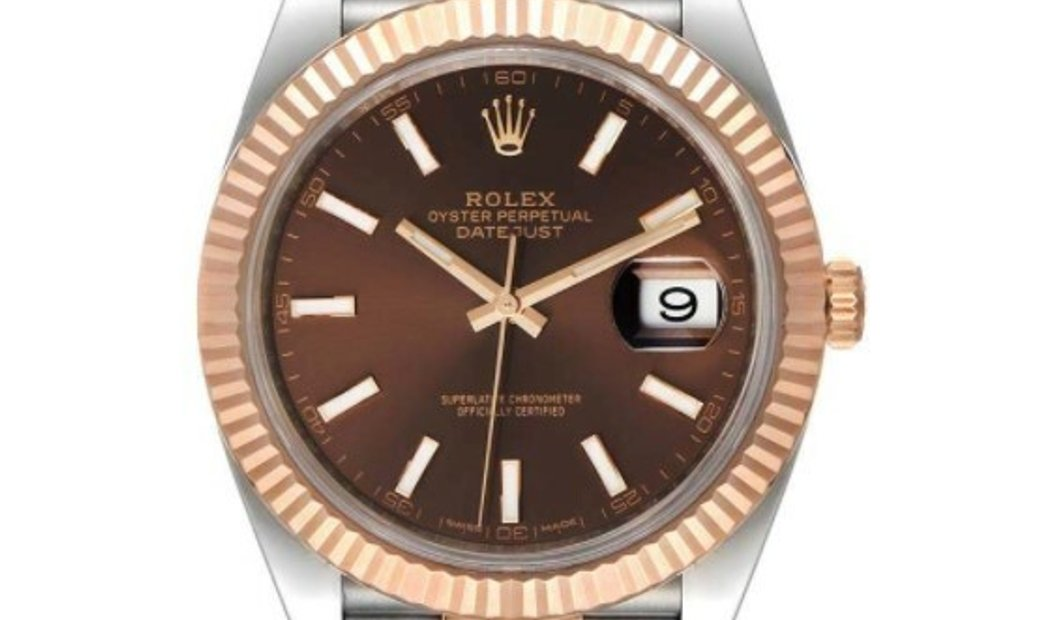 ROLEX OYSTER PERPETUAL DATEJUST 41 126331 CHOIJ