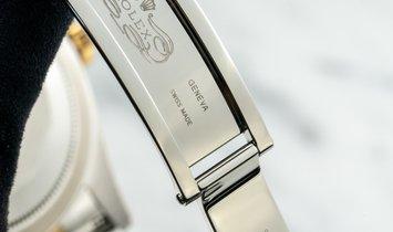 Rolex Sky-Dweller Oyster Perpetual 326933 18K Yellow Gold Diamond Bespoke Champagne Dial