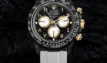 "Rolex DiW NTPT Carbon Daytona ""BLACK & WHITE"" (Retail:US$54,990)"
