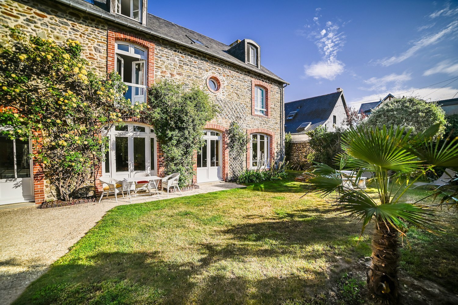 House in Granville, Normandy, France 1