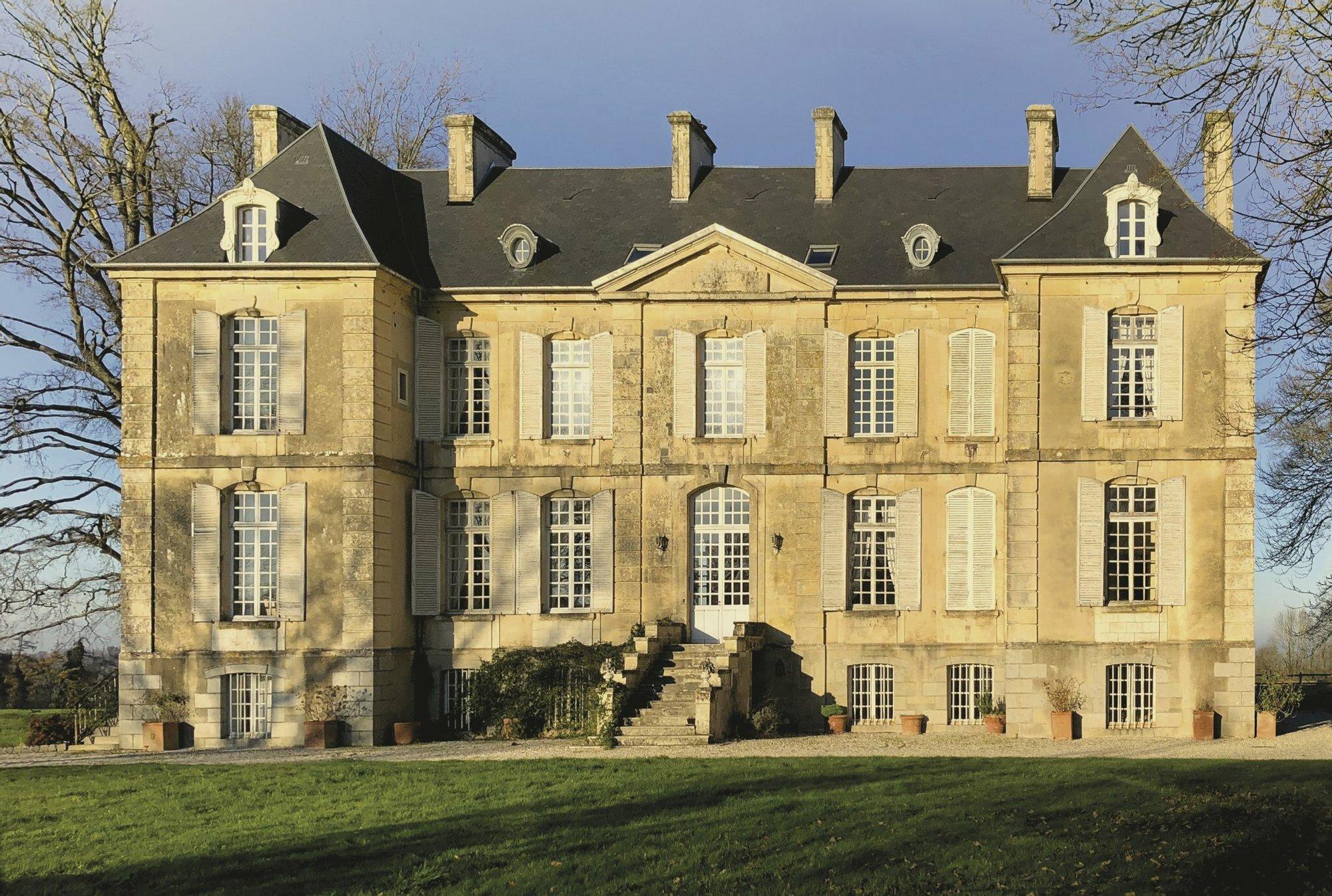House in Villers-Bocage, Normandy, France 1