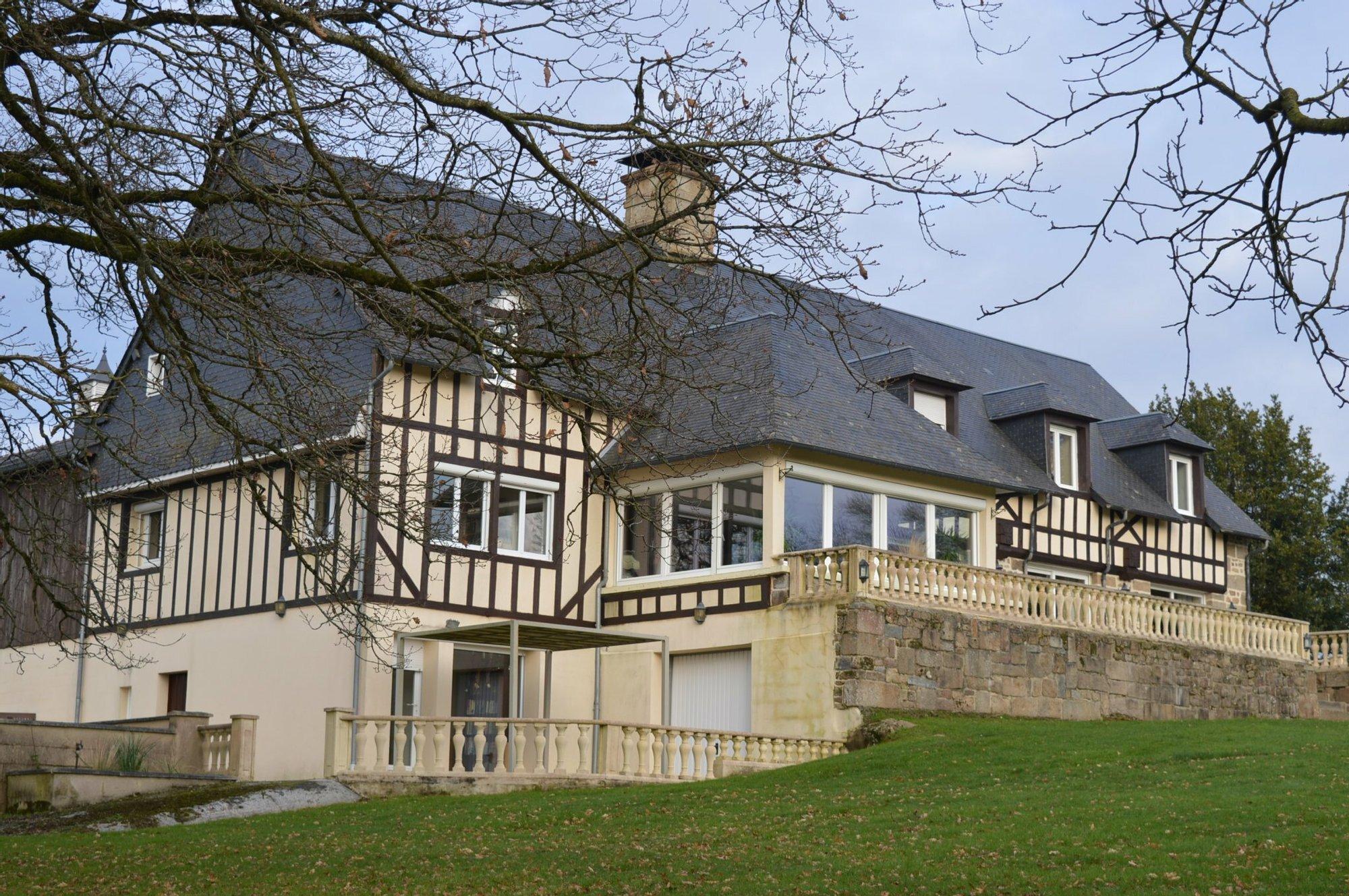 House in Saint-Michel-de-Montjoie, Normandy, France 1