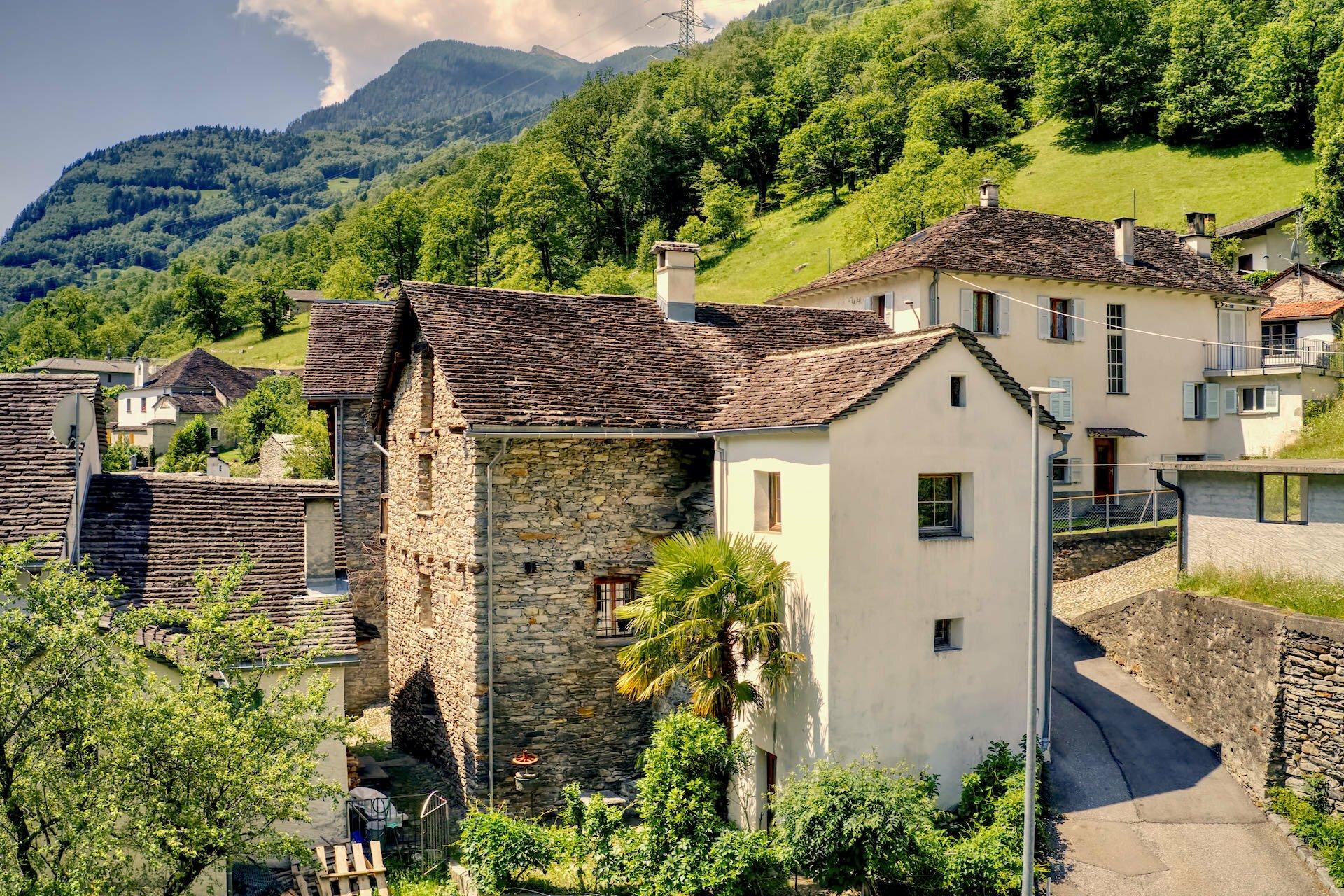 House in Soazza, Grisons, Switzerland 1
