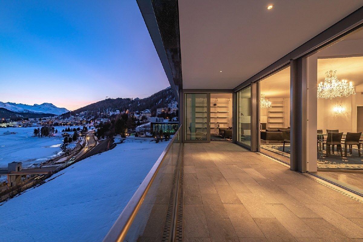 House in Saint Moritz, Grisons, Switzerland 1