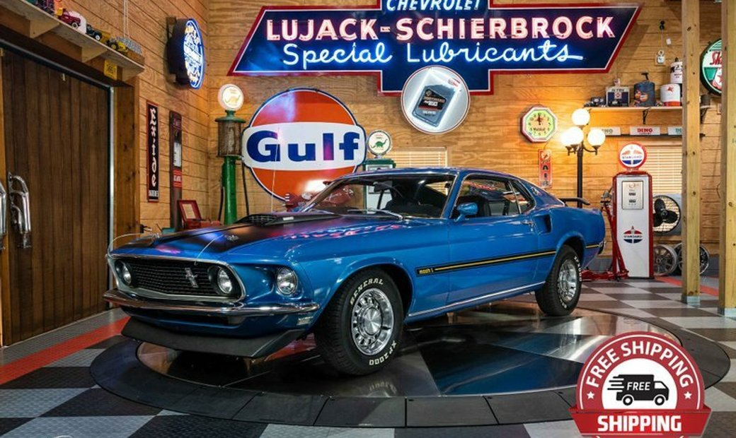 1969 Ford Mustang Mach 1 390 Fastback