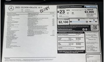 2021 Mercedes-Benz GLE GLE 450 4MATIC®