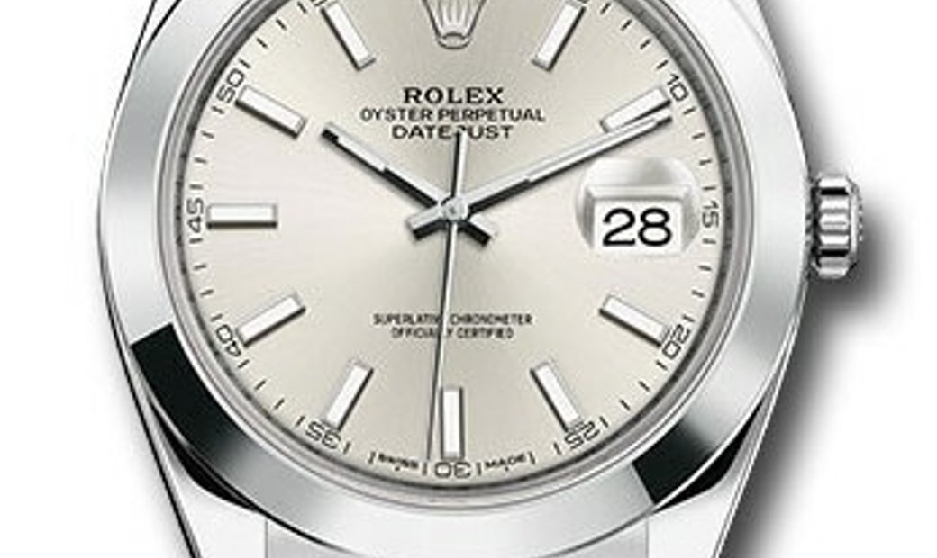 ROLEX OYSTER PERPETUAL DATEJUST 41 126300 SIO