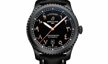 BREITLING AVIATOR 8 DAY AND DATE 41 ETIHAD AIRWAYS LIMITED EDITION M453301A1B1X2