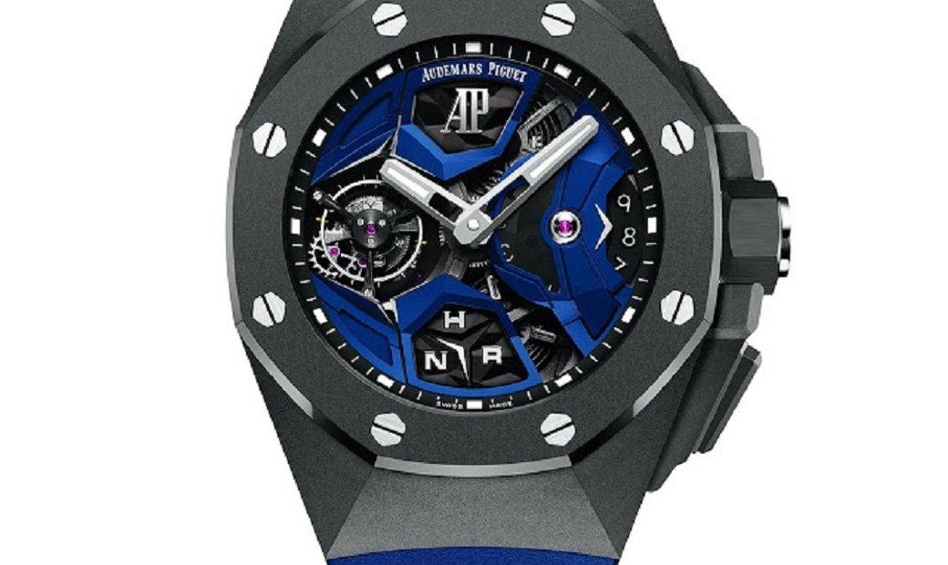 Audemars Piguet Royal Oak Concept Titanium GMT Flying Tourbillon Watch 26589IO.OO.D030CA.01