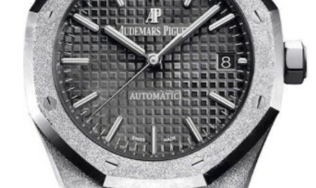 AUDEMARS PIGUET ROYAL OAK FROSTED AUTOMATIC 37MM 15454BC.GG.1259BC.03