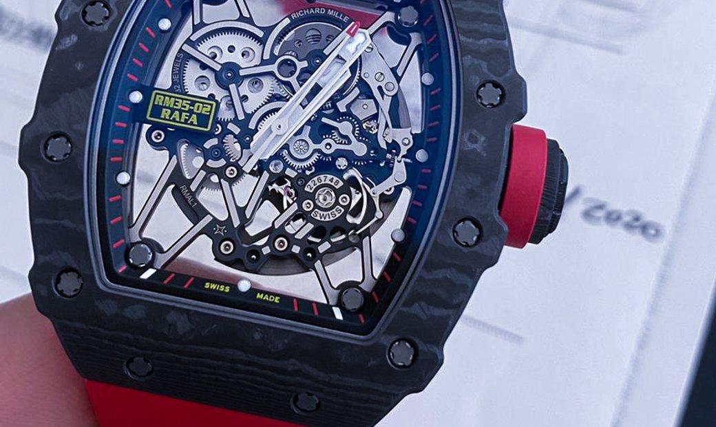 Richard Mille [NEW] RM 35-02 Rafael Nadal Quartz-TPT Black Version